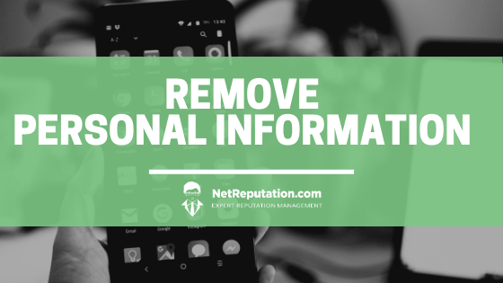 How to Remove Personal Information From The Internet 1