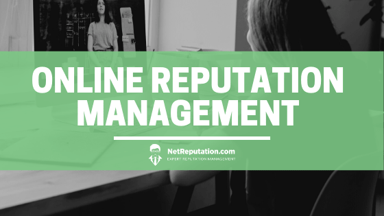 Online Reputation Management - NetReputation