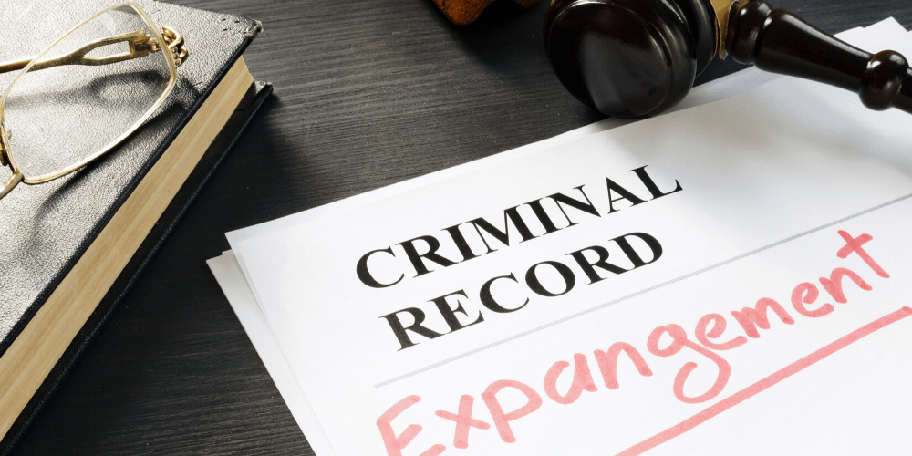 criminal record of an expungement document