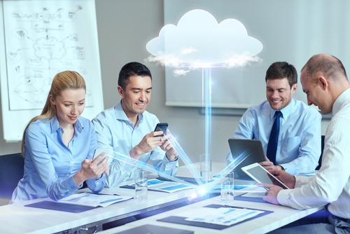 cloud sharing during meeting
