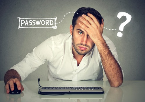 guy mad over password