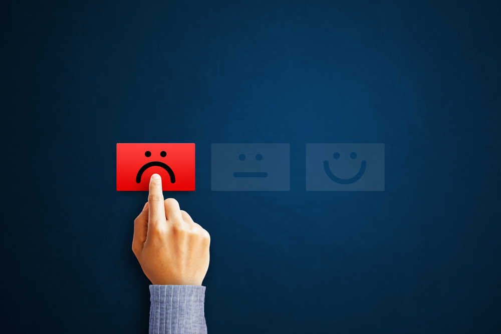 turning customers away with negative reviews